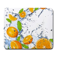 Fruits Water Vegetables Food Large Mousepads by BangZart