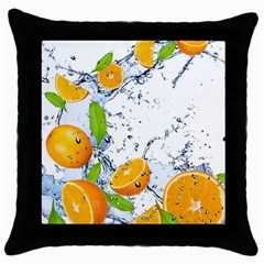 Fruits Water Vegetables Food Throw Pillow Case (black)