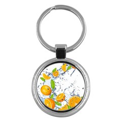 Fruits Water Vegetables Food Key Chains (round)