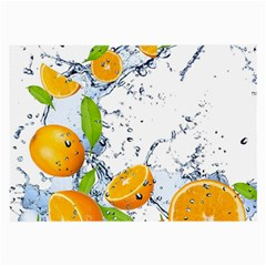 Fruits Water Vegetables Food Large Glasses Cloth by BangZart