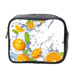 Fruits Water Vegetables Food Mini Toiletries Bag 2 Side