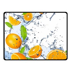Fruits Water Vegetables Food Fleece Blanket (small)
