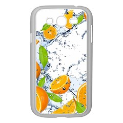 Fruits Water Vegetables Food Samsung Galaxy Grand Duos I9082 Case (white)