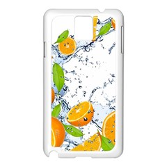 Fruits Water Vegetables Food Samsung Galaxy Note 3 N9005 Case (white)