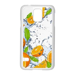 Fruits Water Vegetables Food Samsung Galaxy S5 Case (white)
