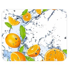 Fruits Water Vegetables Food Double Sided Flano Blanket (medium)  by BangZart