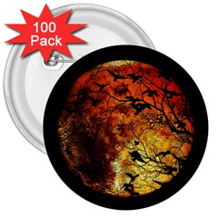 Mars 3  Buttons (100 Pack)  by Valentinaart