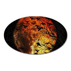 Mars Oval Magnet by Valentinaart