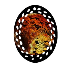 Mars Ornament (oval Filigree) by Valentinaart