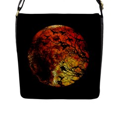 Mars Flap Messenger Bag (l)  by Valentinaart