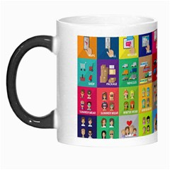 Exquisite Icons Collection Vector Morph Mugs