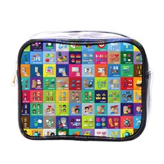Exquisite Icons Collection Vector Mini Toiletries Bags