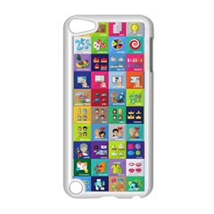 Exquisite Icons Collection Vector Apple Ipod Touch 5 Case (white) by BangZart