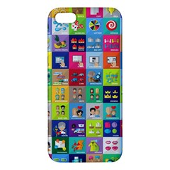 Exquisite Icons Collection Vector Iphone 5s/ Se Premium Hardshell Case