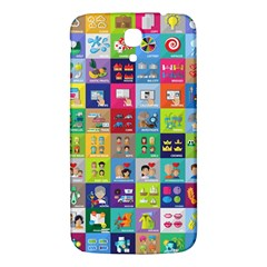 Exquisite Icons Collection Vector Samsung Galaxy Mega I9200 Hardshell Back Case by BangZart
