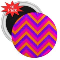 Chevron 3  Magnets (10 Pack)