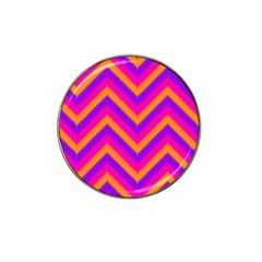 Chevron Hat Clip Ball Marker (4 Pack)