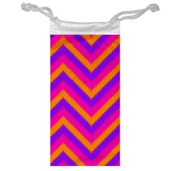 Chevron Jewelry Bag by BangZart
