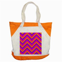 Chevron Accent Tote Bag
