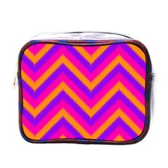 Chevron Mini Toiletries Bags by BangZart