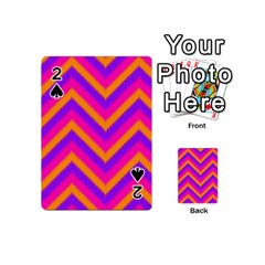Chevron Playing Cards 54 (mini)  by BangZart