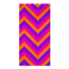 Chevron Shower Curtain 36  X 72  (stall)