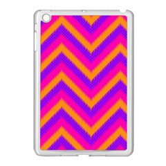 Chevron Apple Ipad Mini Case (white) by BangZart