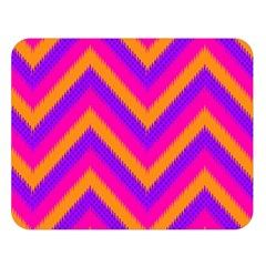 Chevron Double Sided Flano Blanket (large)  by BangZart
