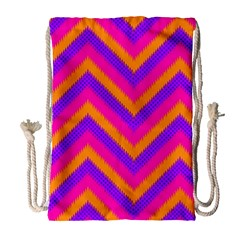 Chevron Drawstring Bag (large)