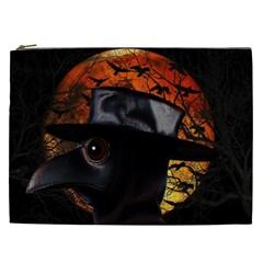 Bird Man  Cosmetic Bag (xxl)  by Valentinaart