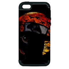 Bird Man  Apple Iphone 5 Hardshell Case (pc+silicone) by Valentinaart