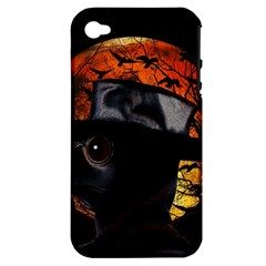 Bird Man  Apple Iphone 4/4s Hardshell Case (pc+silicone) by Valentinaart