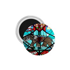 Elephant Stained Glass 1 75  Magnets by BangZart