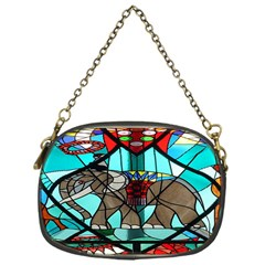 Elephant Stained Glass Chain Purses (one Side)