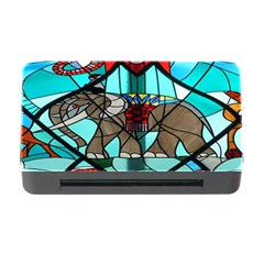 Elephant Stained Glass Memory Card Reader With Cf by BangZart