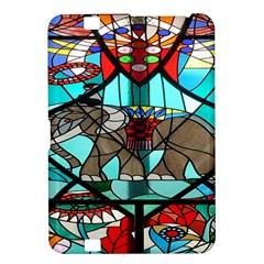 Elephant Stained Glass Kindle Fire Hd 8 9  by BangZart