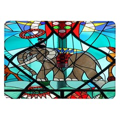 Elephant Stained Glass Samsung Galaxy Tab 8 9  P7300 Flip Case