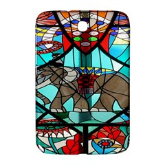 Elephant Stained Glass Samsung Galaxy Note 8 0 N5100 Hardshell Case