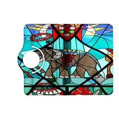 Elephant Stained Glass Kindle Fire Hd (2013) Flip 360 Case by BangZart