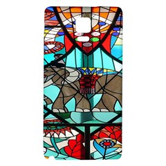 Elephant Stained Glass Galaxy Note 4 Back Case