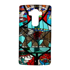Elephant Stained Glass Lg G4 Hardshell Case by BangZart