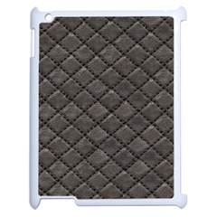 Seamless Leather Texture Pattern Apple Ipad 2 Case (white) by BangZart