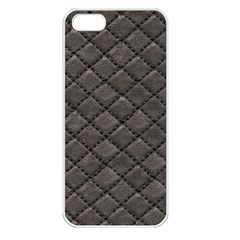 Seamless Leather Texture Pattern Apple Iphone 5 Seamless Case (white)