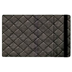 Seamless Leather Texture Pattern Apple Ipad 3/4 Flip Case by BangZart