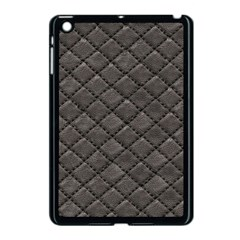 Seamless Leather Texture Pattern Apple Ipad Mini Case (black) by BangZart