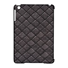Seamless Leather Texture Pattern Apple Ipad Mini Hardshell Case (compatible With Smart Cover)
