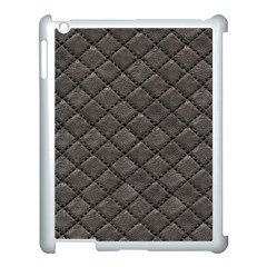 Seamless Leather Texture Pattern Apple Ipad 3/4 Case (white)