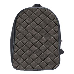 Seamless Leather Texture Pattern School Bags (xl)