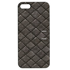 Seamless Leather Texture Pattern Apple Iphone 5 Hardshell Case With Stand by BangZart