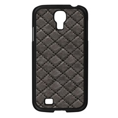 Seamless Leather Texture Pattern Samsung Galaxy S4 I9500/ I9505 Case (black) by BangZart